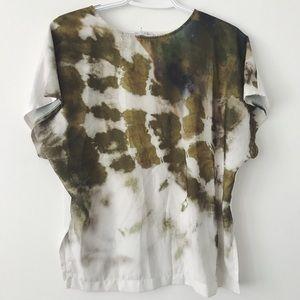 Zara dye blouse